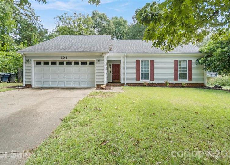 104 Remally Lane Huntersville, NC 28078