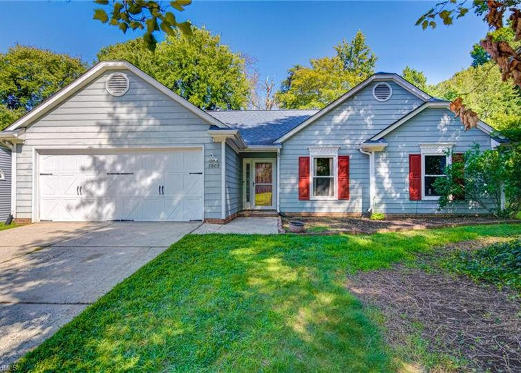 5802 Chinaberry Place Greensboro, NC 27405
