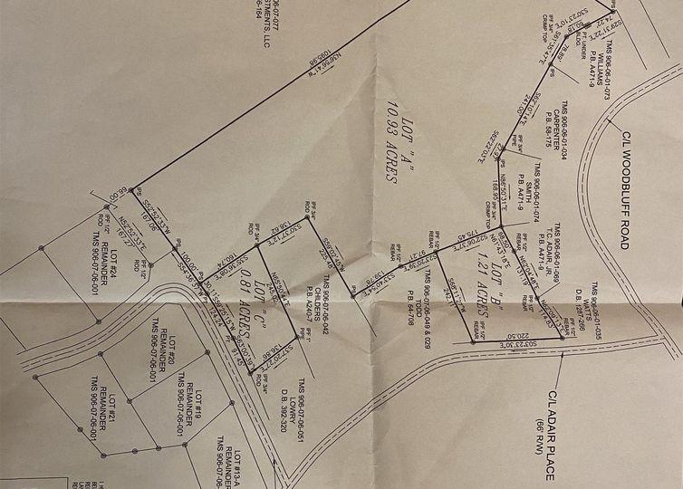 Adair Place Laurens, SC 29360