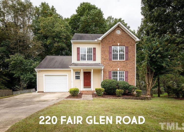 220 Fair Glen Road Holly Springs, NC 27540